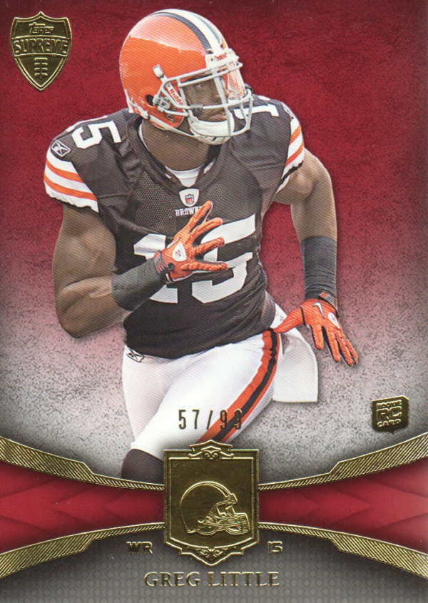 2011 Topps Supreme Red #52 Greg Little