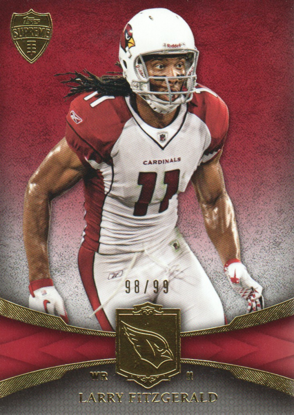 2011 Topps Supreme Red #53 Larry Fitzgerald