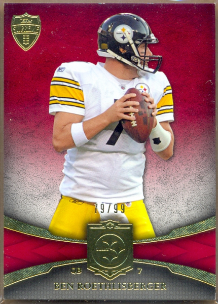 2011 Topps Supreme Red #55 Ben Roethlisberger
