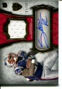 2011 Topps Supreme Autographed Relics Red #SARSR Stevan Ridley
