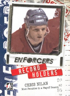 2011-12 ITG Enforcers #26 Chris Nilan RH