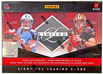 2011 Limited Football Hobby Box