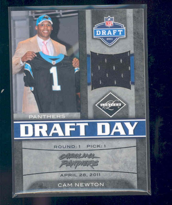 2011 Limited Draft Day Jerseys #1 Cam Newton