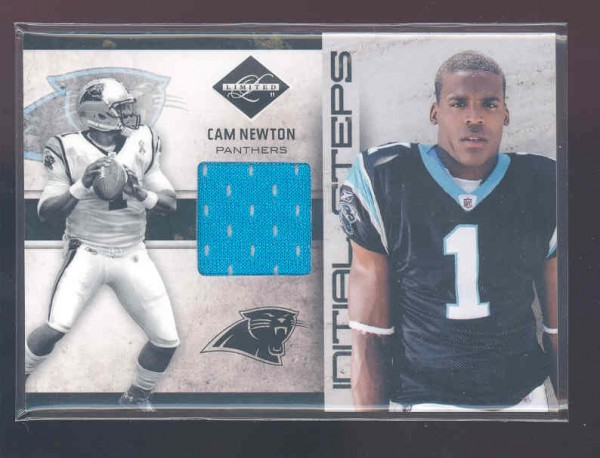 2011 Limited Initial Steps Jerseys #11 Cam Newton/99