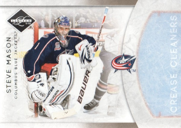 2011-12 Limited Crease Cleaners #20 Steve Mason