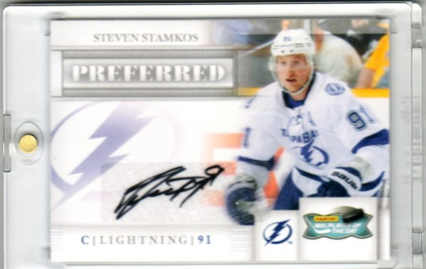 2011-12 Panini Preferred Player of the Day Autographs #PODSS Steven Stamkos