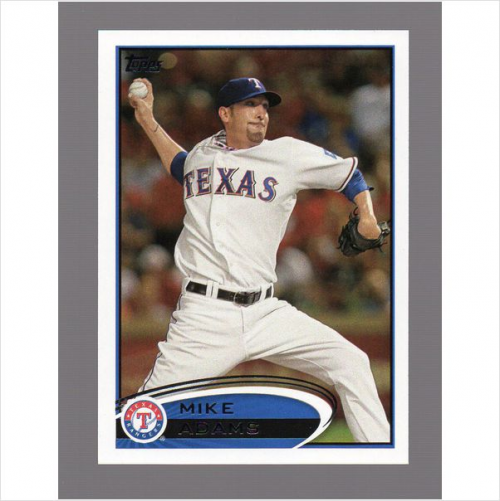 2012 Topps #8 Mike Adams