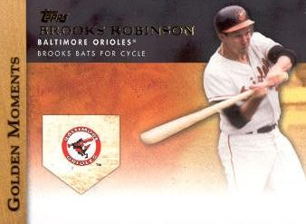 2012 Topps Golden Moments #GM34 Brooks Robinson