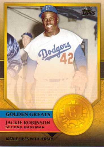 2012 Topps Golden Greats #GG61 Jackie Robinson