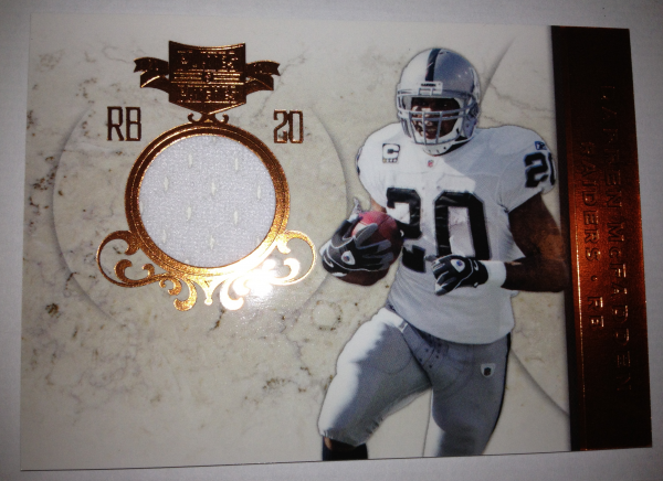 2011 Panini Plates and Patches Jerseys #20 Darren McFadden/299