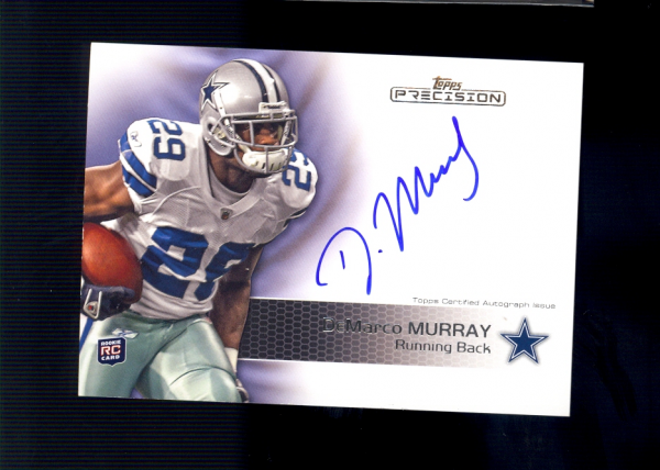 2011 Topps Precision #119 DeMarco Murray AU RC