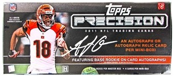 2011 Topps Precision Football Hobby Box