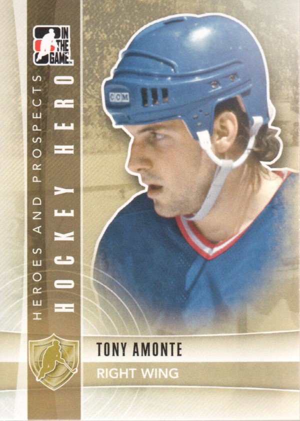 2011-12 ITG Heroes and Prospects #7 Tony Amonte HH