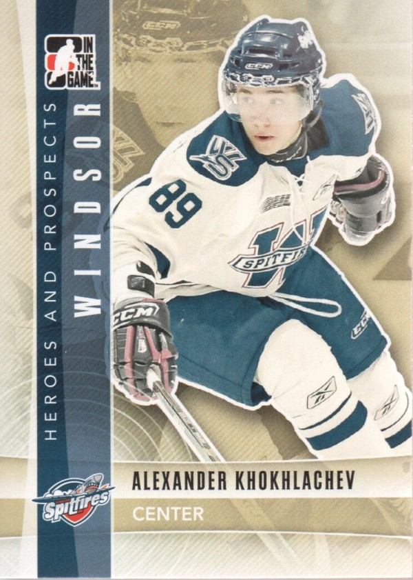 2011-12 ITG Heroes and Prospects #12 Alexander Khokhlachev CP