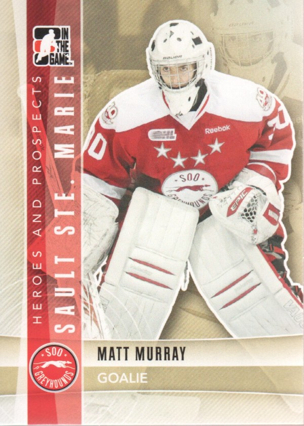 2011-12 ITG Heroes and Prospects #23 Matt Murray CP