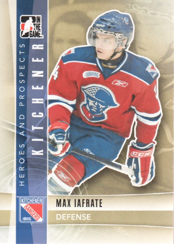 2011-12 ITG Heroes and Prospects #26 Max Iafrate CP