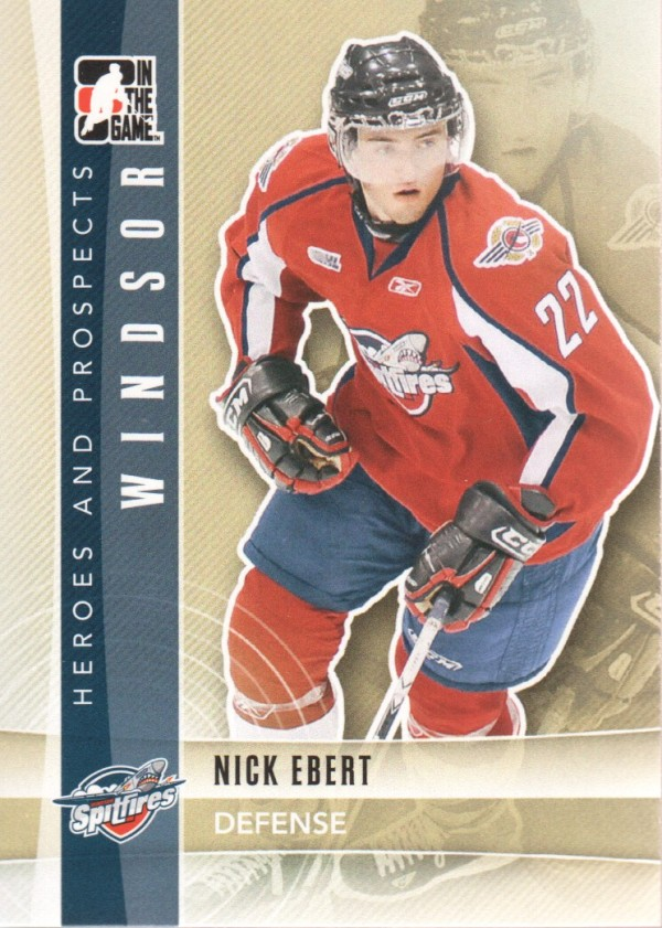 2011-12 ITG Heroes and Prospects #29 Nick Ebert CP