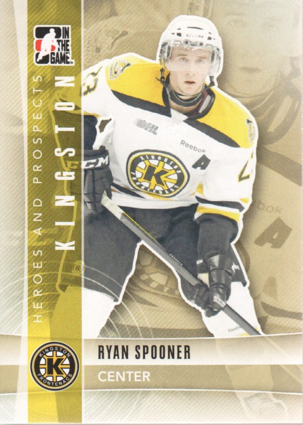 2011-12 ITG Heroes and Prospects #33 Ryan Spooner CP