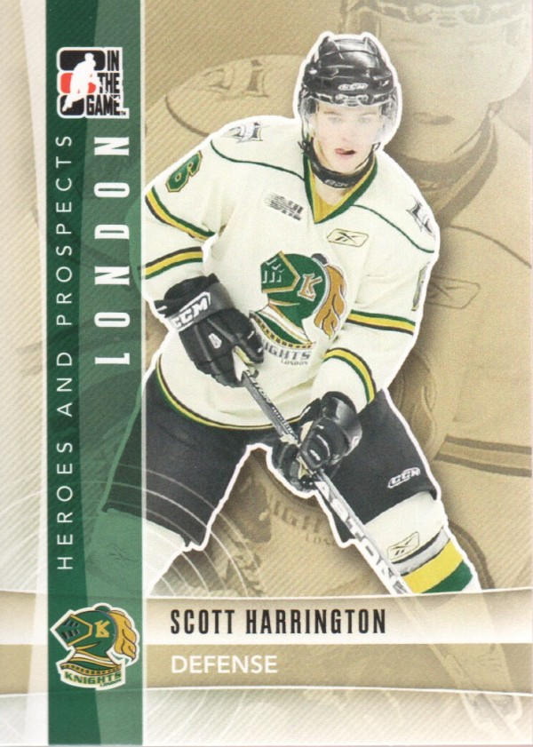 2011-12 ITG Heroes and Prospects #36 Scott Harrington CP