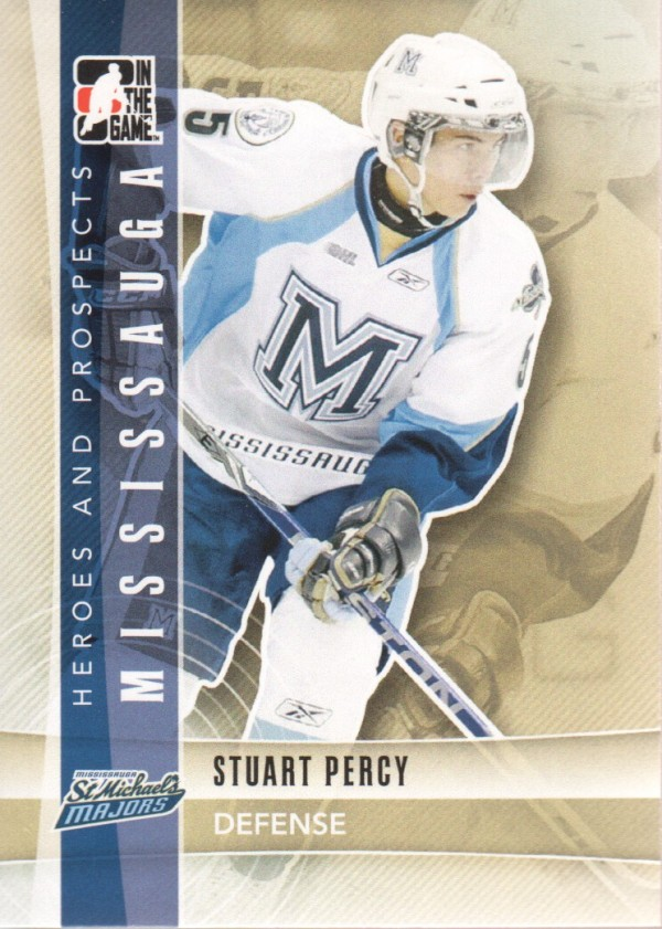 2011-12 ITG Heroes and Prospects #40 Stuart Percy CP
