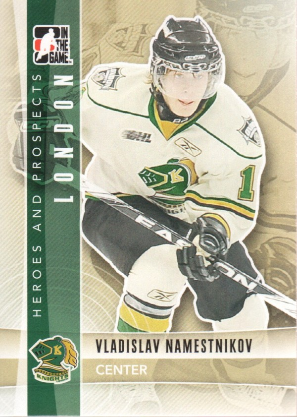 2011-12 ITG Heroes and Prospects #41 Vladislav Namestnikov CP