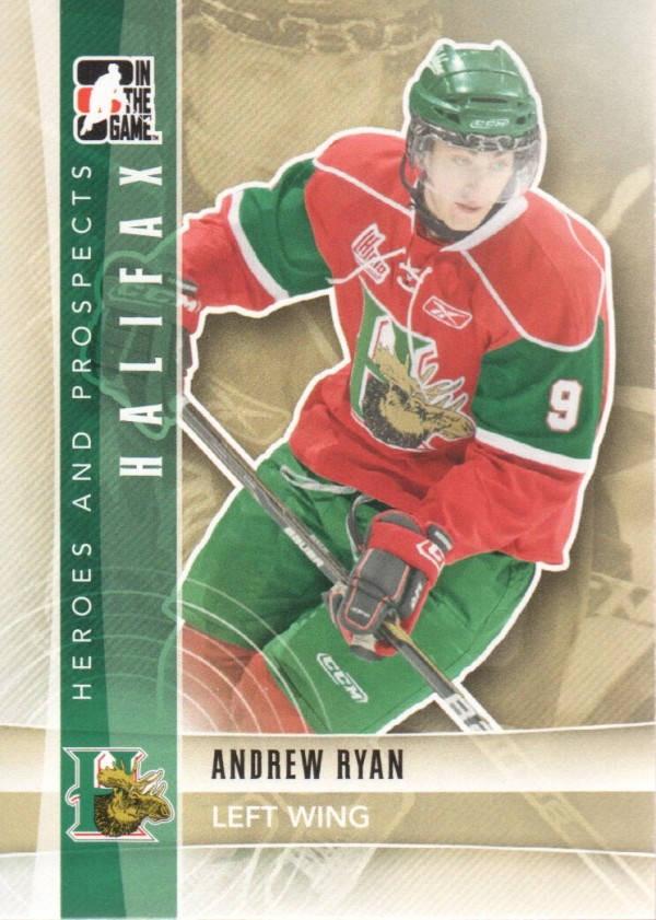 2011-12 ITG Heroes and Prospects #43 Andrew Ryan CP