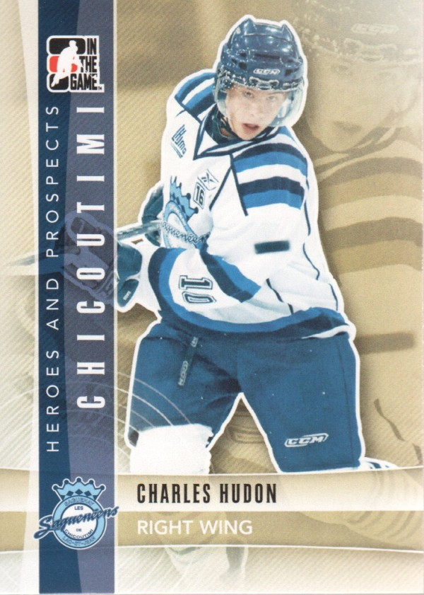 2011-12 ITG Heroes and Prospects #44 Charles Hudon CP