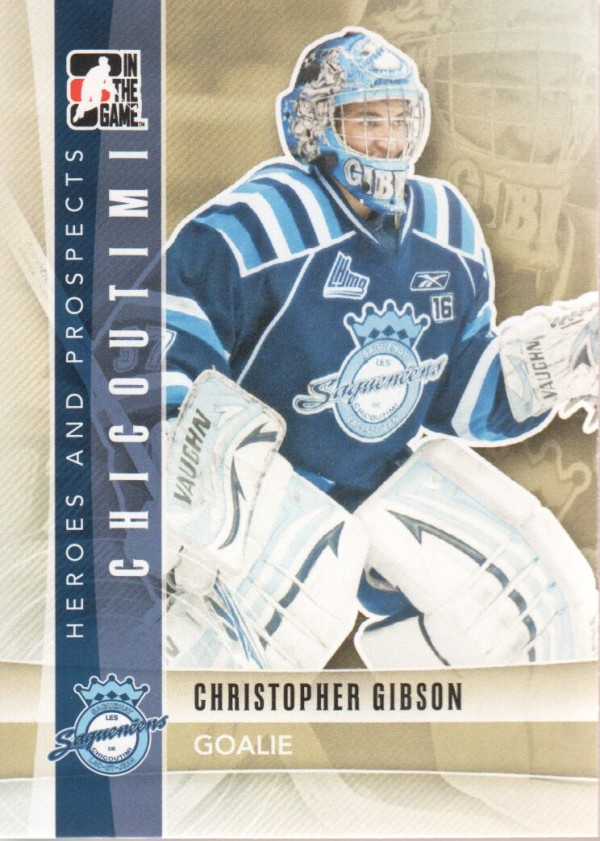 2011-12 ITG Heroes and Prospects #45 Christopher Gibson CP