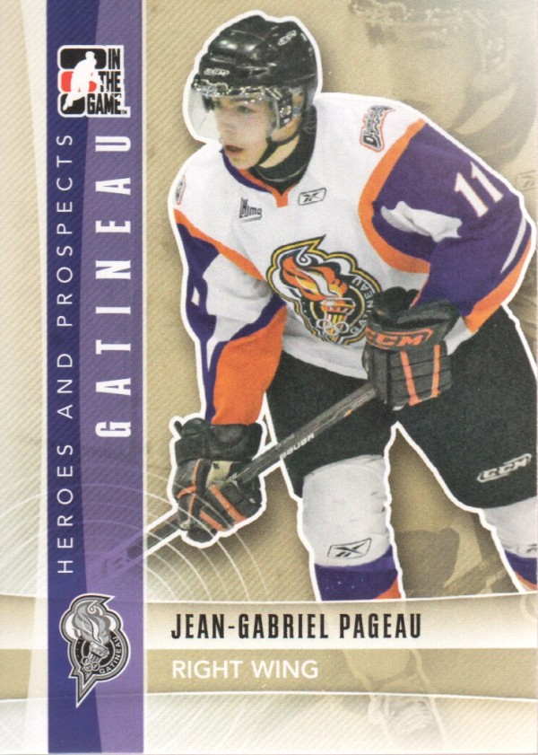 2011-12 ITG Heroes and Prospects #49 Jean-Gabriel Pageau CP