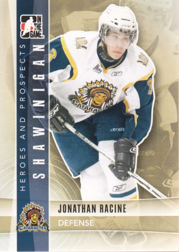 2011-12 ITG Heroes and Prospects #52 Jonathan Racine CP