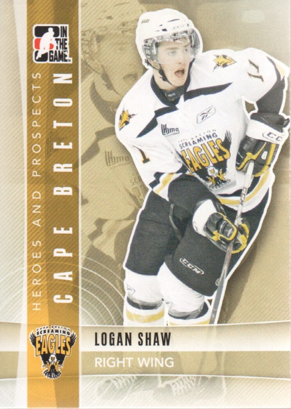 2011-12 ITG Heroes and Prospects #53 Logan Shaw CP