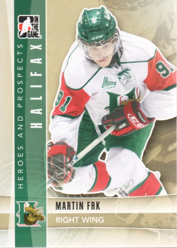 2011-12 ITG Heroes and Prospects #55 Martin Frk CP