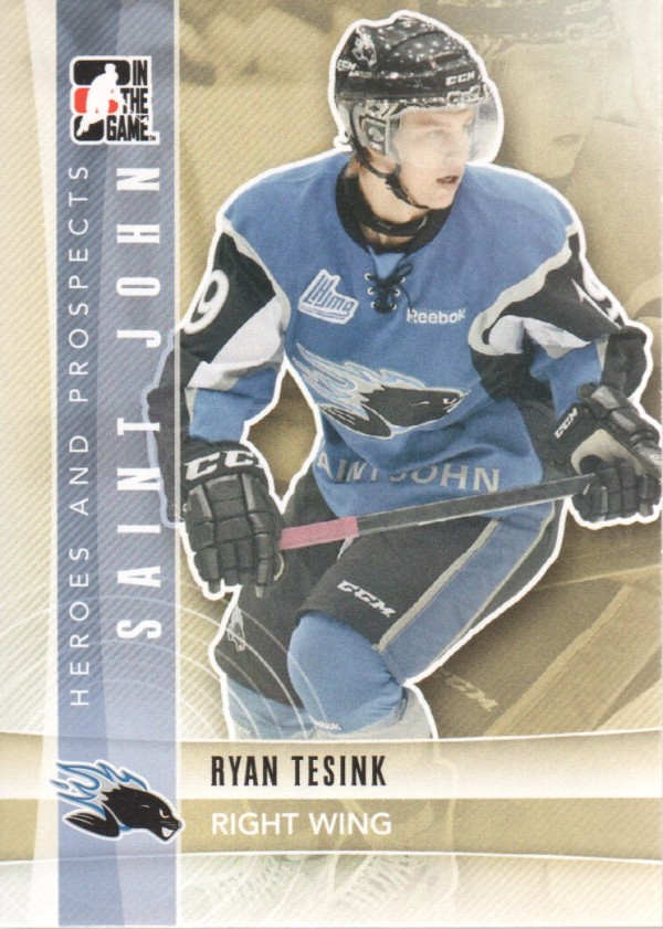2011-12 ITG Heroes and Prospects #59 Ryan Tesink CP
