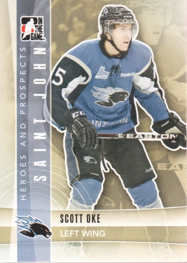 2011-12 ITG Heroes and Prospects #60 Scott Oke CP