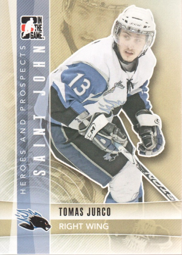 2011-12 ITG Heroes and Prospects #62 Tomas Jurco CP