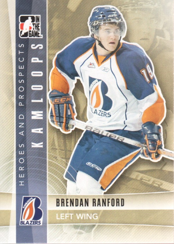 2011-12 ITG Heroes and Prospects #67 Brendan Ranford CP