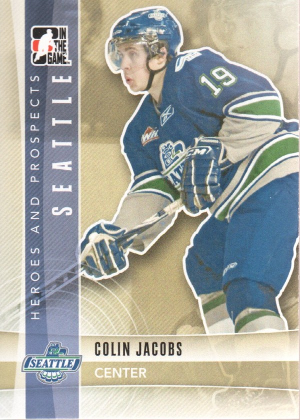 2011-12 ITG Heroes and Prospects #68 Colin Jacobs CP