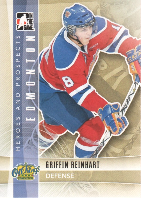 2011-12 ITG Heroes and Prospects #73 Griffin Reinhart CP