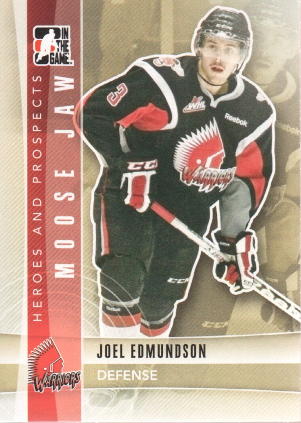 2011-12 ITG Heroes and Prospects #75 Joel Edmundson CP