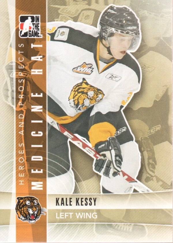 2011-12 ITG Heroes and Prospects #76 Kale Kessy CP