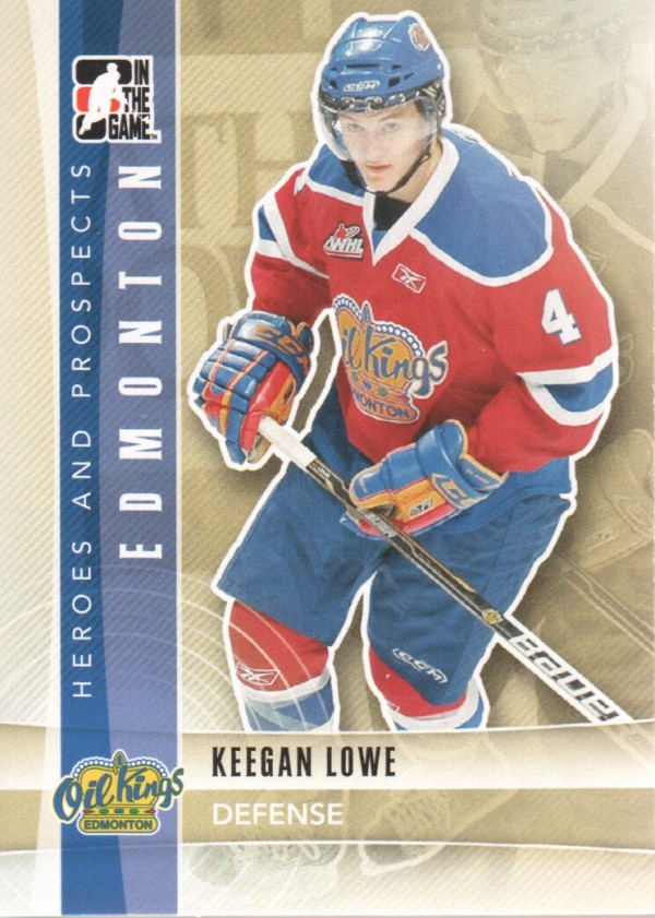 2011-12 ITG Heroes and Prospects #77 Keegan Lowe CP