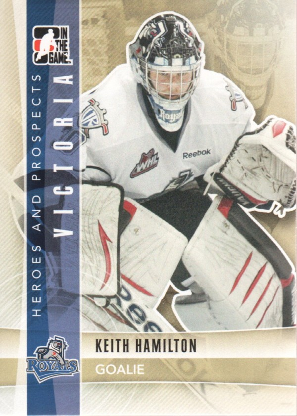 2011-12 ITG Heroes and Prospects #78 Keith Hamilton CP