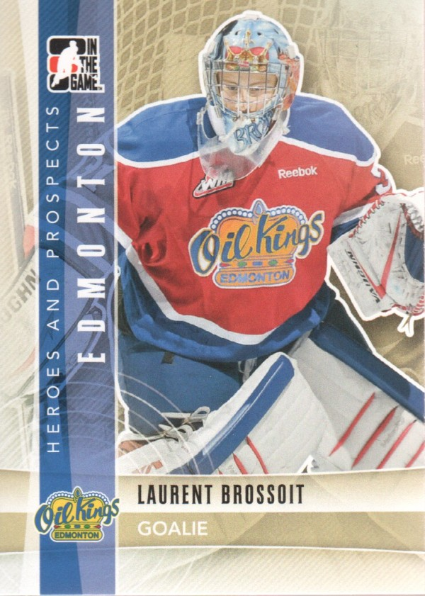 2011-12 ITG Heroes and Prospects #79 Laurent Brossoit CP