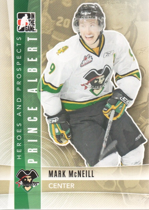 2011-12 ITG Heroes and Prospects #80 Mark McNeill CP