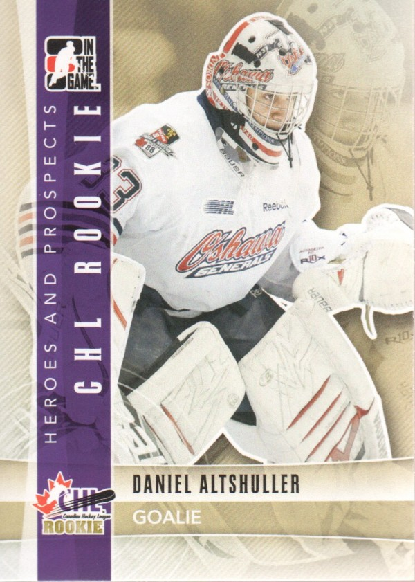 2011-12 ITG Heroes and Prospects #93 Daniel Altshuller CR