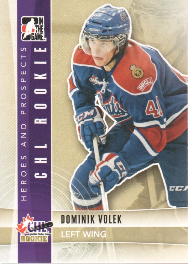 2011-12 ITG Heroes and Prospects #95 Dominik Volek CR