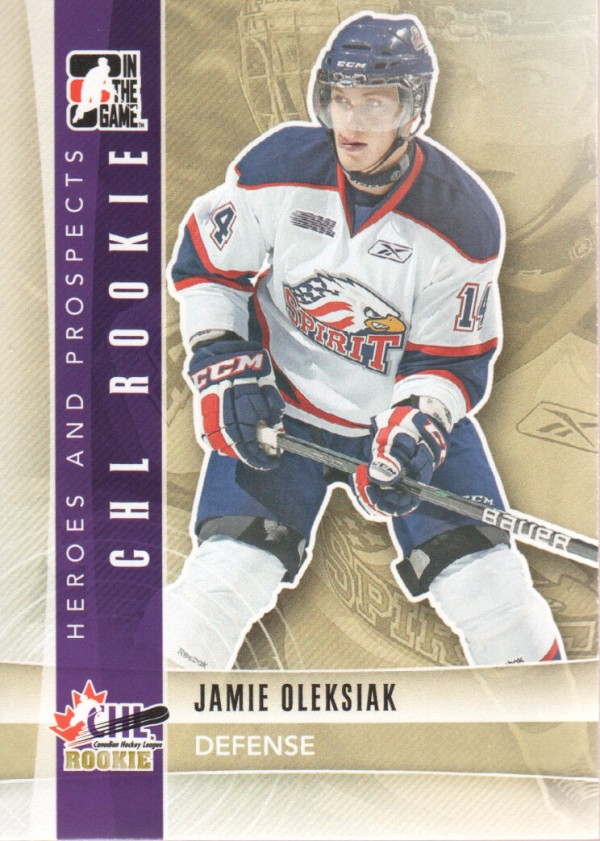 2011-12 ITG Heroes and Prospects #97 Jamie Oleksiak CR