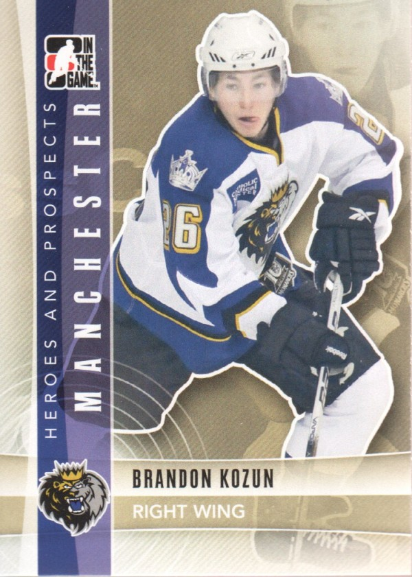 2011-12 ITG Heroes and Prospects #107 Brandon Kozun AP