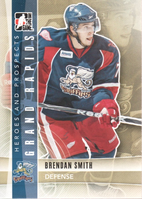 2011-12 ITG Heroes and Prospects #109 Brendan Smith AP