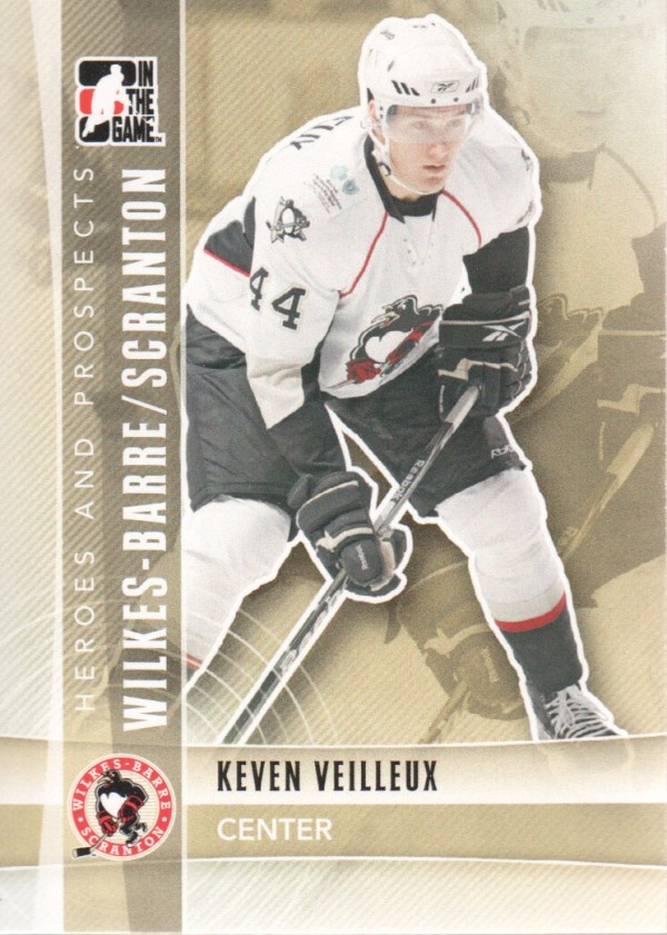 2011-12 ITG Heroes and Prospects #121 Keven Veilleux AP